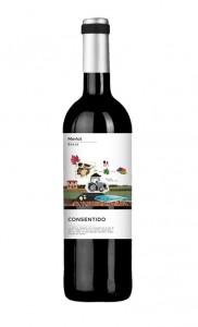 Comprar vino Online Merlot Consentido Bodegas la purisima
